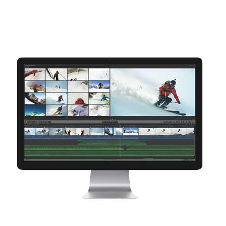creación de videos y contenidos para pantallas