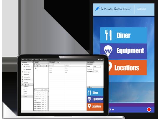 Características principales del software de gestión de contenidos para pantallas