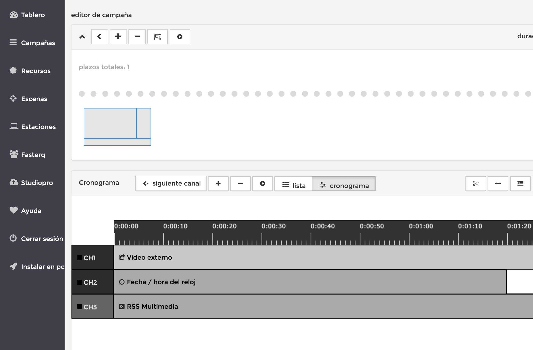 software para señalización digital profesional